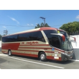 locação de ônibus para festa preço Balneário Mar Paulista