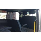 vans para transporte Parque São Domingos